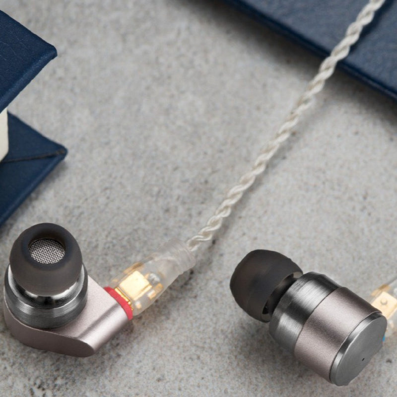 Tin HiFi T2 Dual Dynamic Driver Wired Earphone
