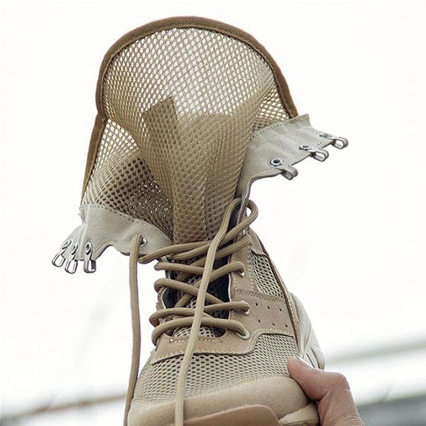 Outdoor Special Forces Light Breathable Mesh Combat Boots