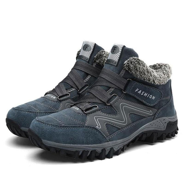 Men's Thermal Buckle Hiking Sneakers