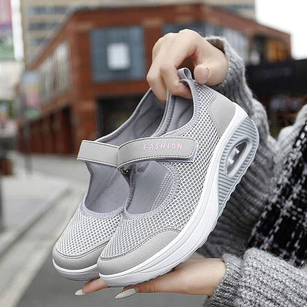 Women's Stretchable Breathable Lightweight Walking Shoes