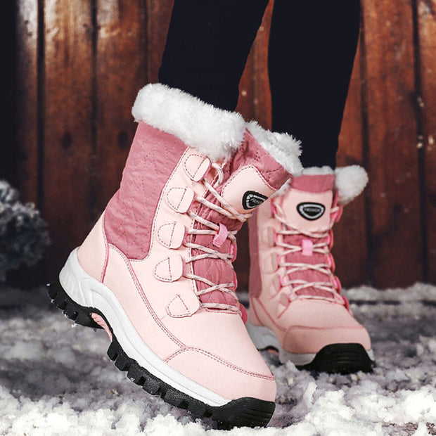 Women's Winter Thick Warm High Top Snow Boots