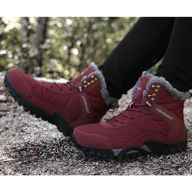 Women's Outdoor Waterproof And Warm Snow Boots