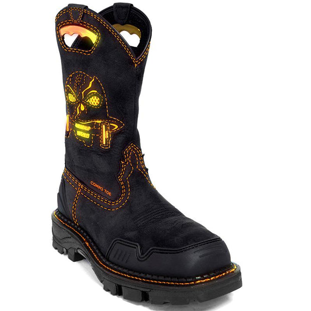 Women's Ghosts Skull Western Boots