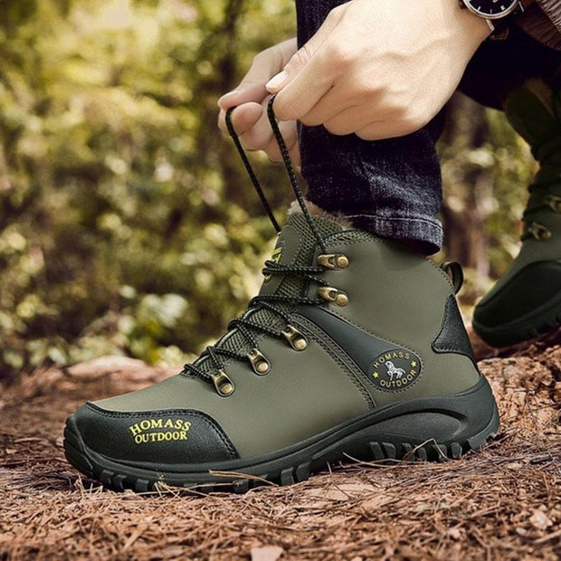 Men's Winter Outdoor Waterproof Warm Boots