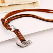 Hammer Leather Necklace