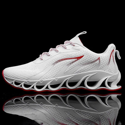 Men's Lace-up Soft Breathable Running Shoes