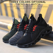 Men's  Breathable Lightweight Safety Work Shoes