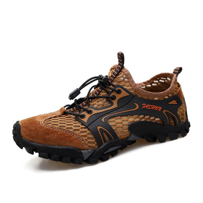 Men's Breathable Mesh Casual Light Outdoor Hiking Water Shoes