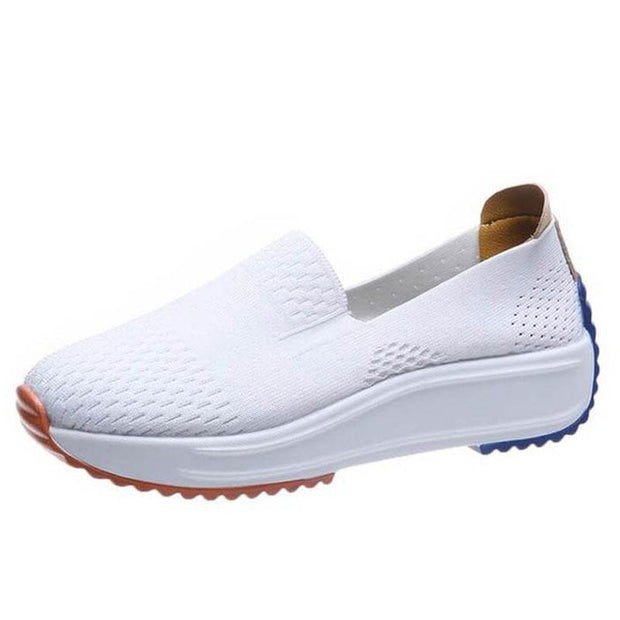 Women's Casual Flying Knit Loafers