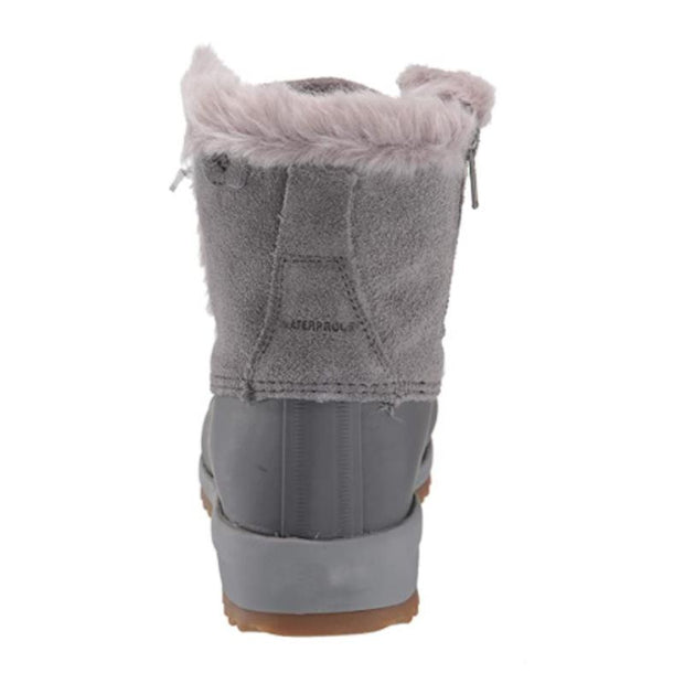 Ladies Lace Up Warm Winter Furry Martin Booties