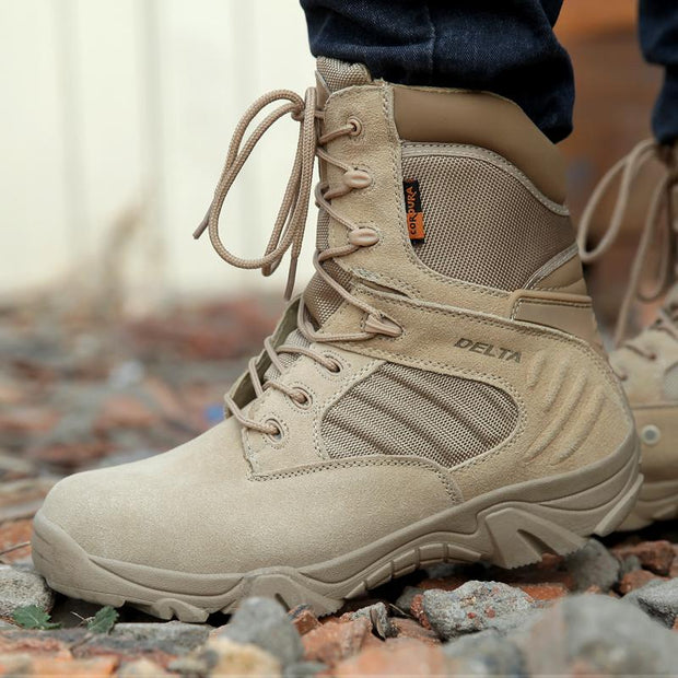 Men's Special Forces Tactical Leather Boot