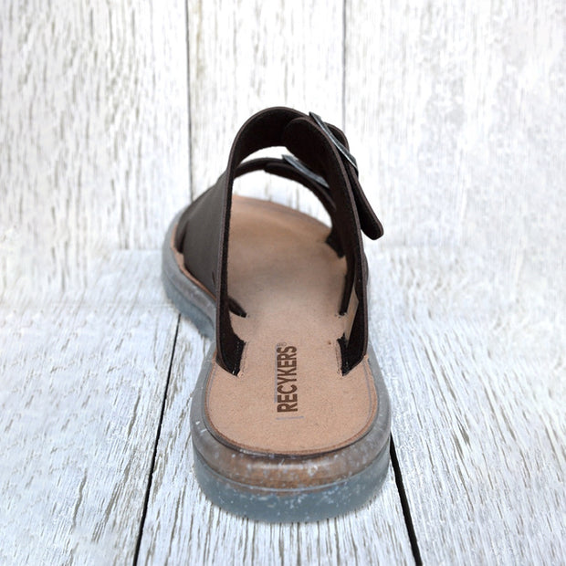 Women's Fashion Casual Buckle Slippers