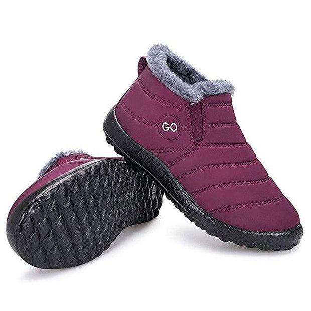 Women's Comfortable Waterproof And Warm Snow Boots