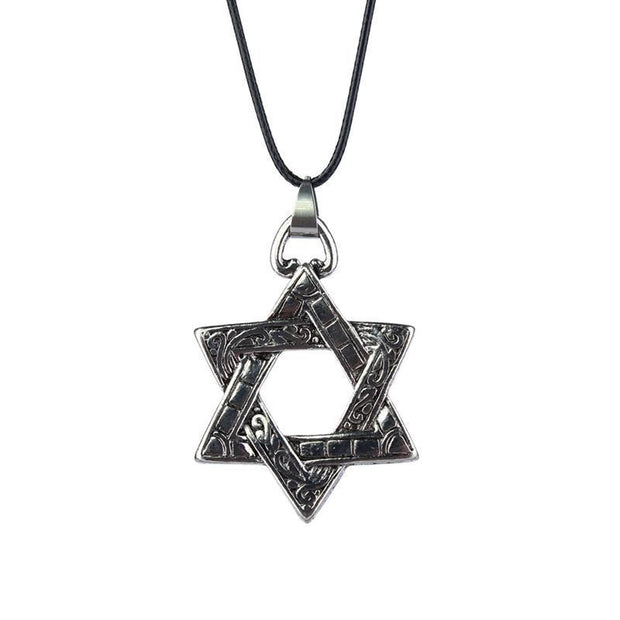Alloy Six-pointed Star Necklace