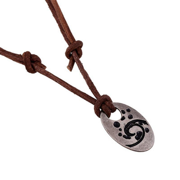 Beach Leather Necklace