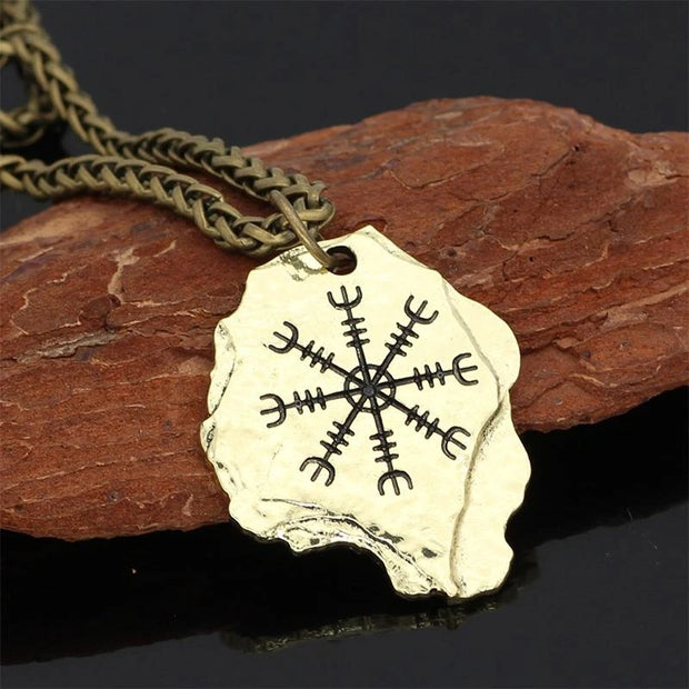 Rune Vintage Imitation Store Domineering Necklace