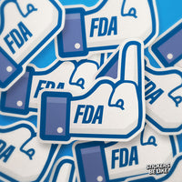 FDA Against the Industry II - Bubble-free Sticker