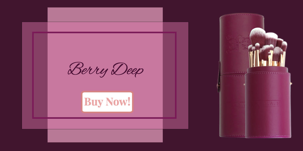 F.A.R.A.H DEEP BERRY BRUSH KIT