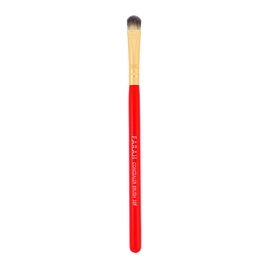 "Concealer Brush ""Red Siren"" 10F"