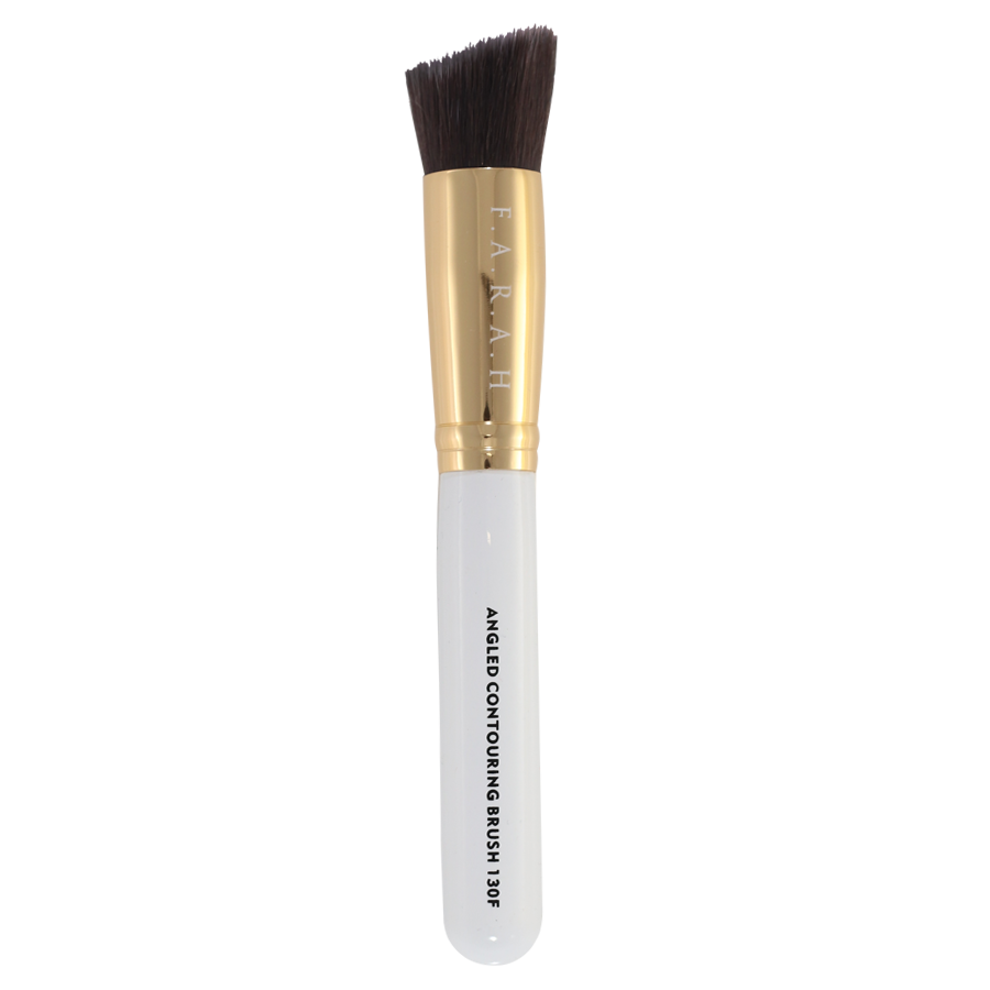 Angled Contouring Brush 130F (white)