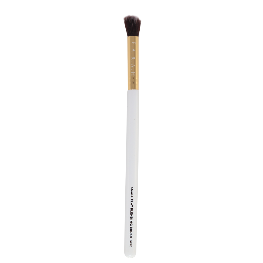 Small Flat Blending Brush 165E (white)