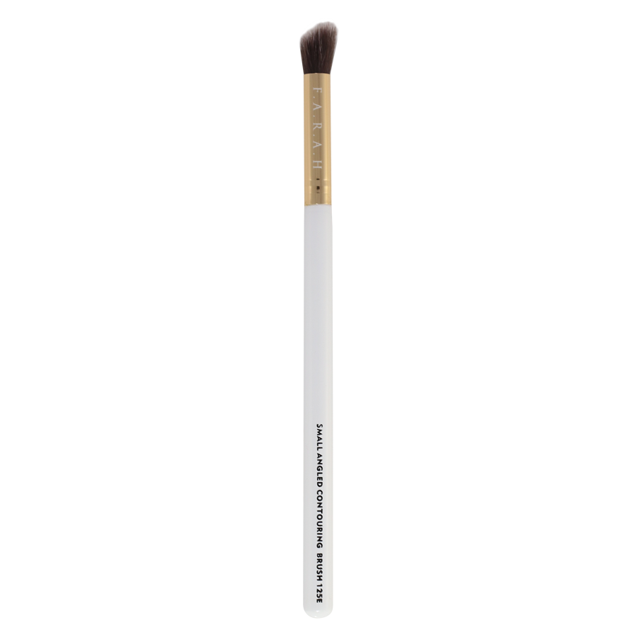 Small Angled Contouring Brush 125E (white)
