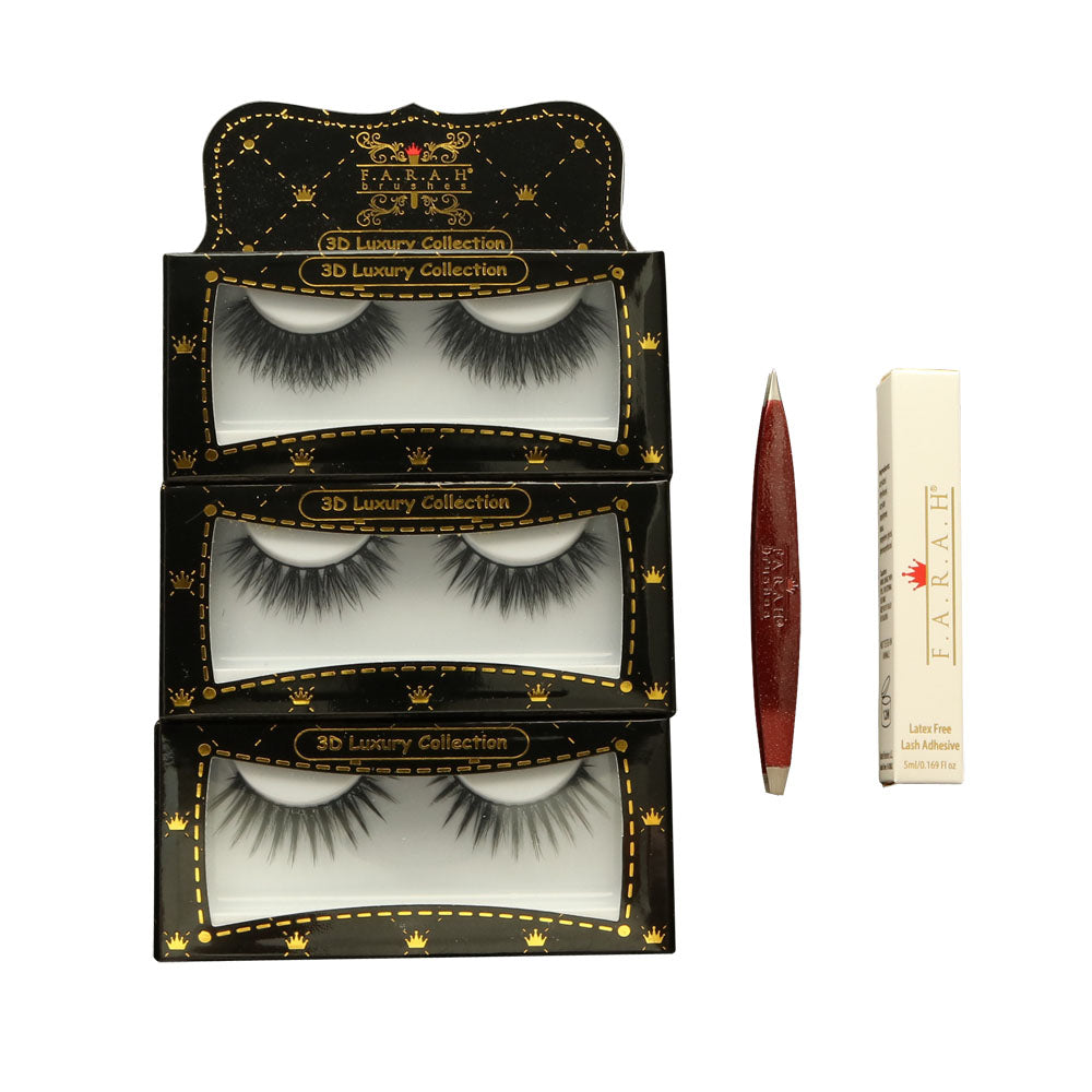 Queens 3D Lash Bundle