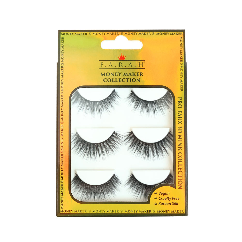 Money Maker Collection 3D Faux Mink Lash set