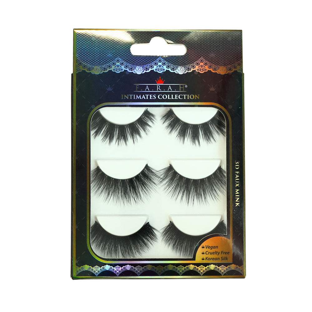 Intimates Collection 3D Faux Mink Lash set