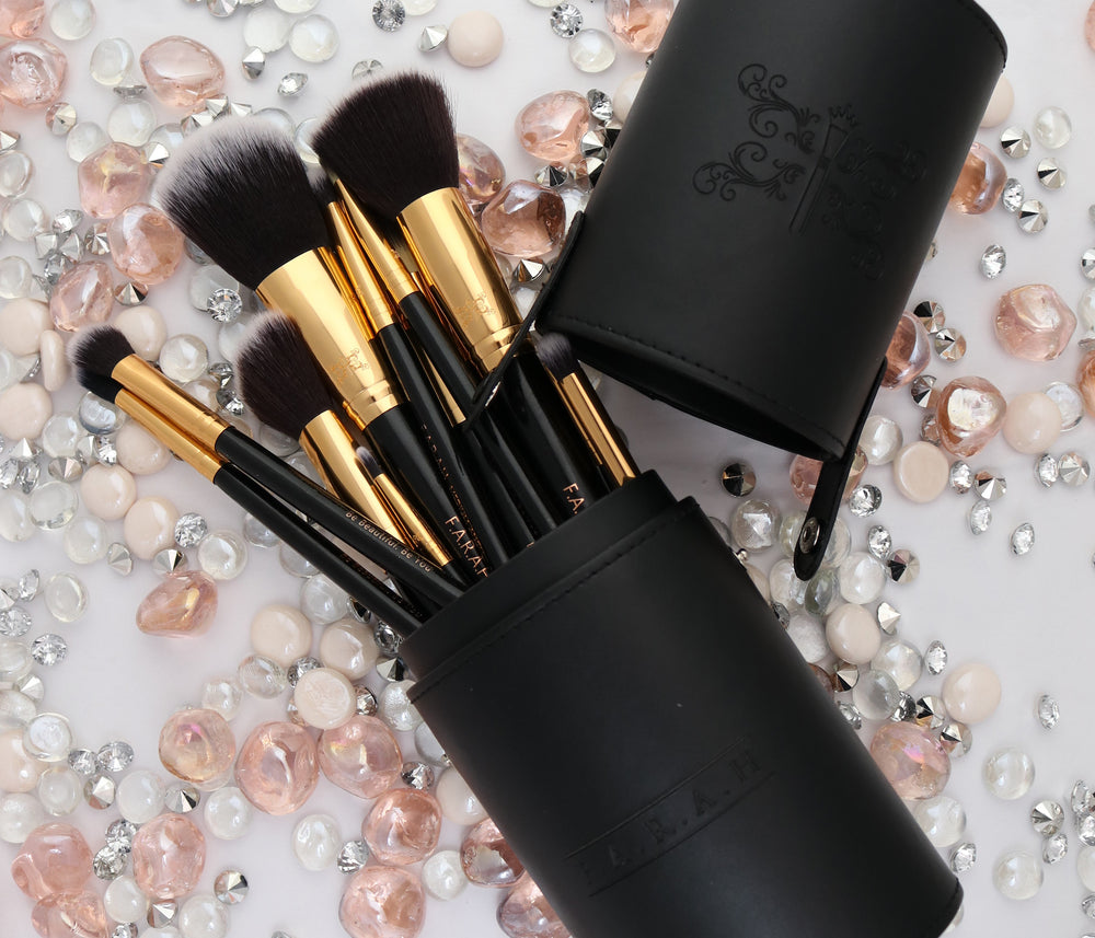 F.A.R.A.H® Black Elegance Brush Kit