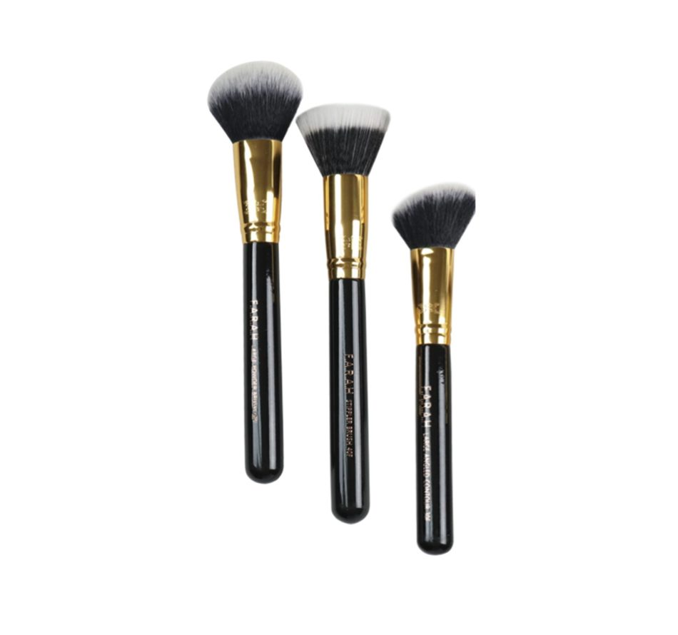 Classic Face Brush Trio
