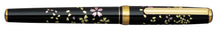 Load image into Gallery viewer, Platinum Maki-e Fountain Pen - Swirling Petals of Cherry Blossom