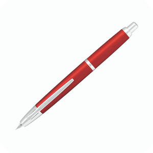 Pilot Capless Fountain Pen - Alumite Red Limited Edition
