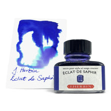 Load image into Gallery viewer, J Herbin Éclat de Saphir (Sapphire Blue) - Fountain Pen Ink