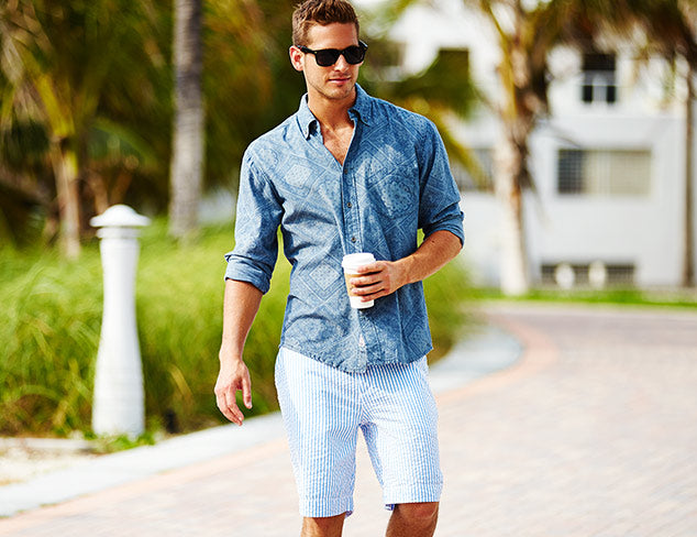9d9caad99fa2c How to Pull Off Long-Sleeve Shirts with Shorts