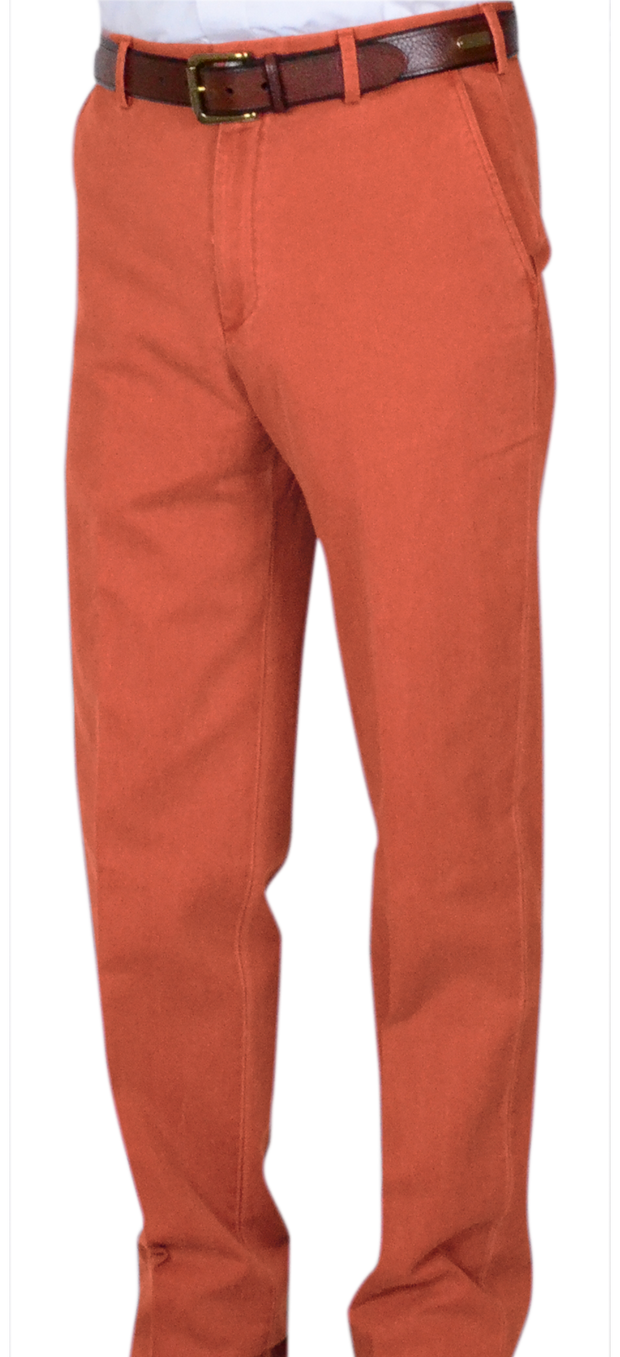 Classic Vintage Twill<br>Relax Fit<br>Burnt Orange