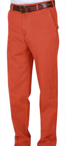 Classic Vintage Twill<br>Relax Fit<br>Orange