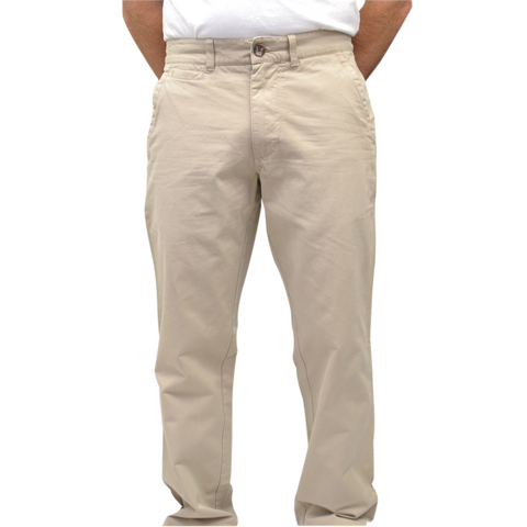 Military Twill<br>Trim Fit<br>Khaki