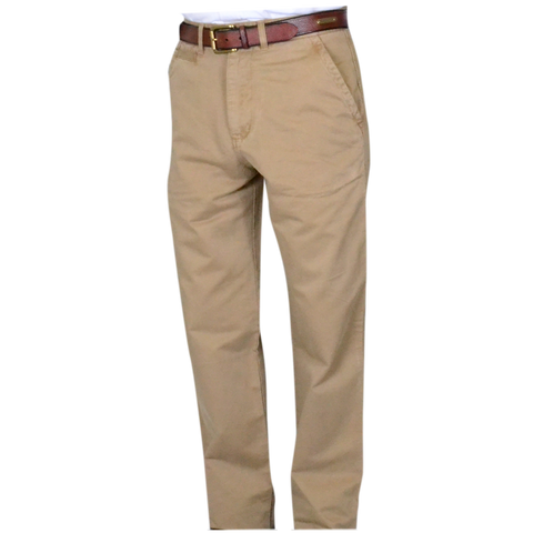 Military Twill<br>Classic Fit<br>British Tan