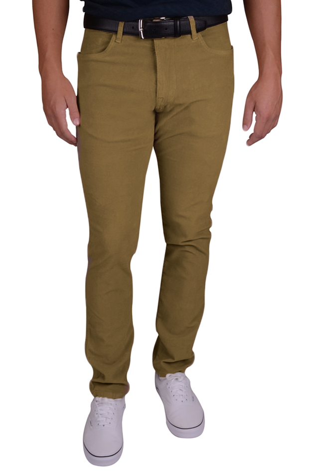 Stretch Corduroy<br>British Tan