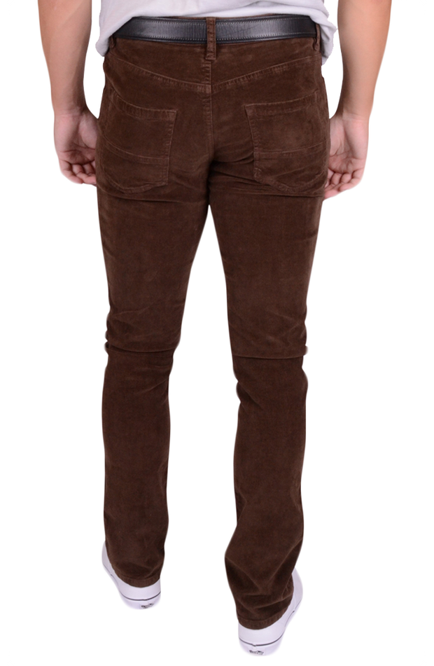 Stretch Corduroy<br>Bark