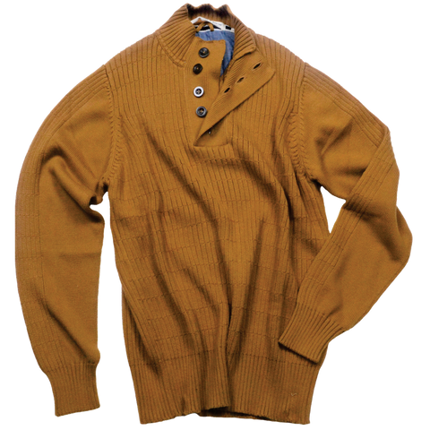 Pullover Sweater<br>Bronze Brown