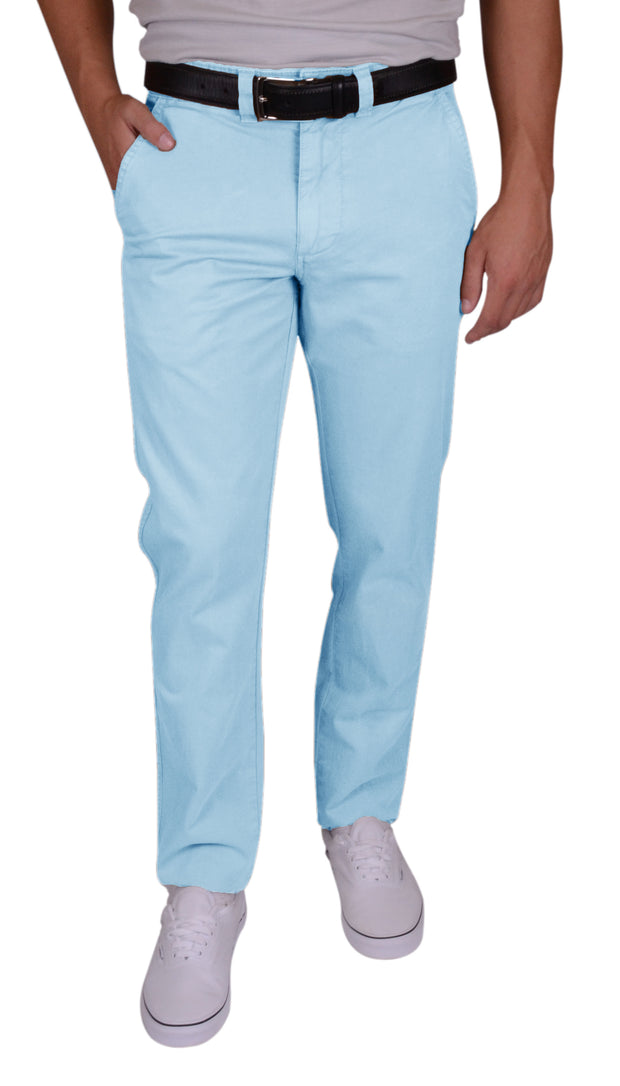 Sunny Stretch Compact Twill<br>Flat Front, Modern Fit<br>Citadel Blue