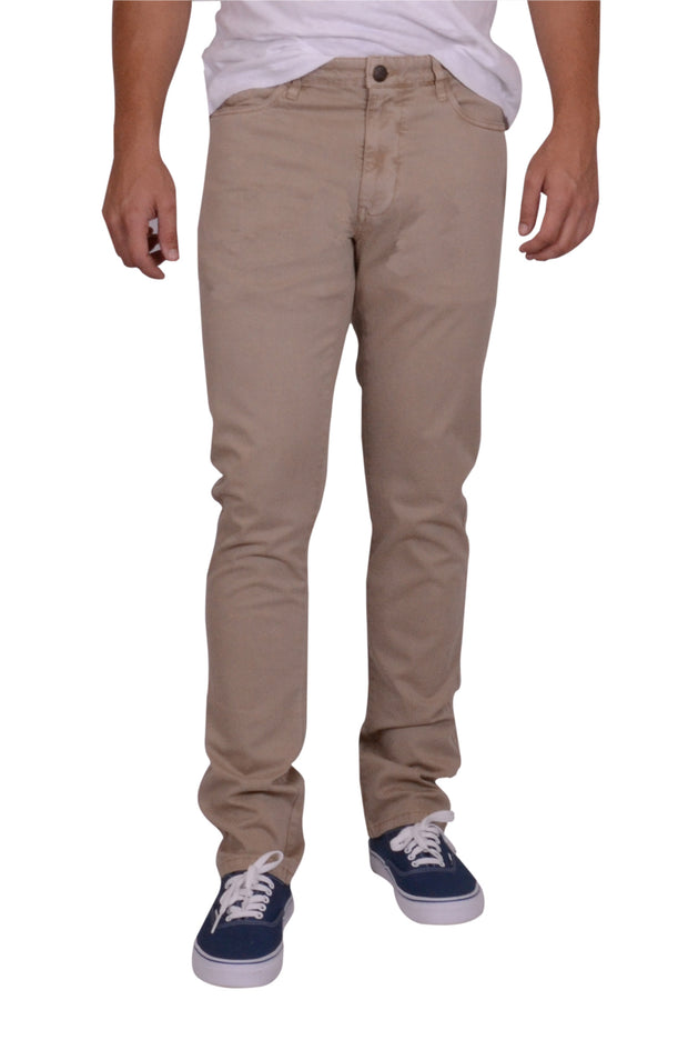 Sunny Stretch 5 PKT Compact Twill<br>Modern Fit<br>Khaki