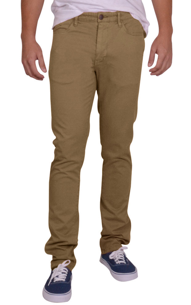 Sunny Stretch Compact Twill<br>5 Pocket,  Modern Fit<br>British Tan