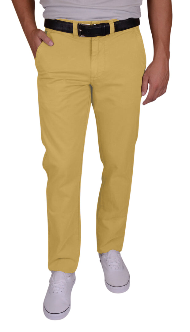 Sunny Stretch Compact Twill<br>Flat Front, Modern Fit<br>Mohave Desert