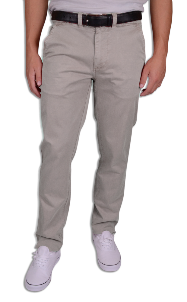 Sunny Stretch Compact Twill<br>Modern Fit<br>Dusty Silver