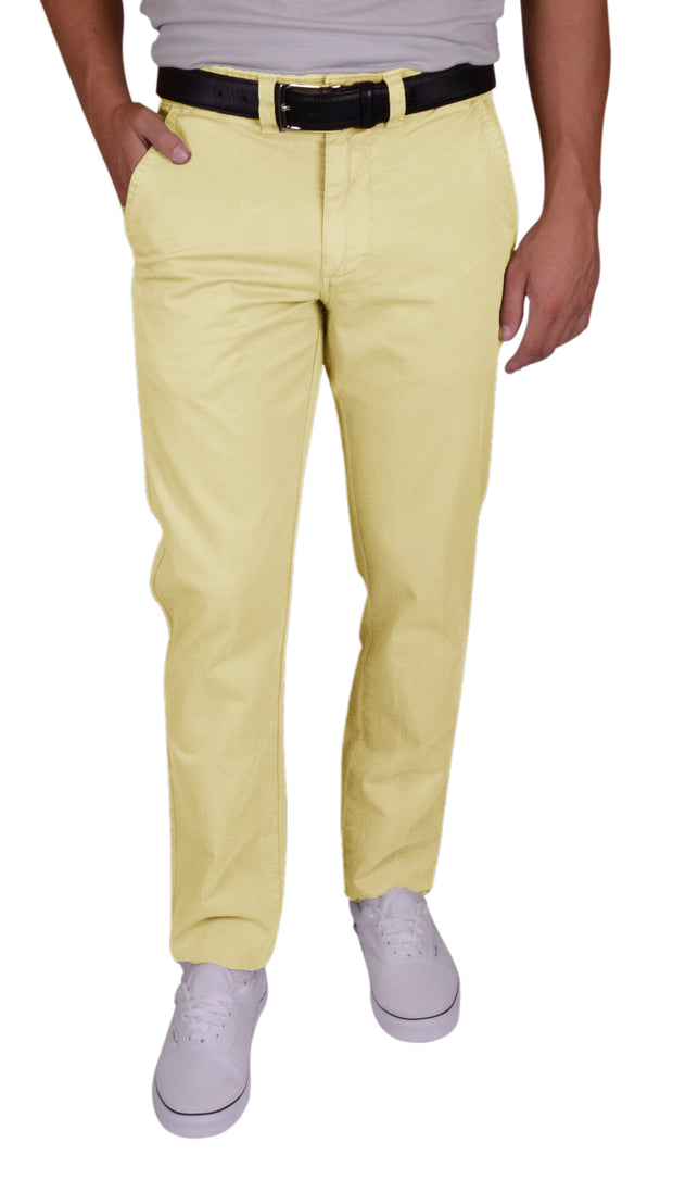 Sunny Stretch Compact Twill<br>Flat Front, Modern Fit<br>Daylight