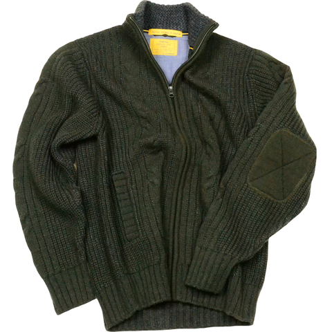 Retro Cable Cardigan<br>Grolive