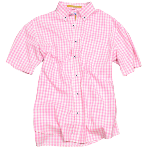 Summer Oxford<br>Short Sleeve<br>Pink
